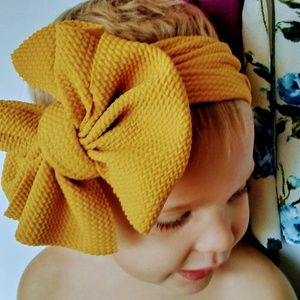 Other - Set of 3 big head wrap bows
